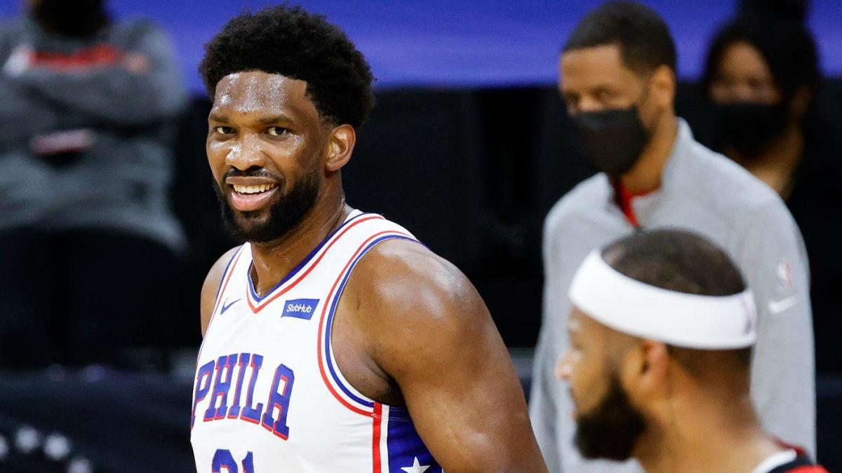 Joel Embiid matches Allen Iverson and Wilt Chamberlain with another huge game in Sixers' win over Rockets - CBS Sports