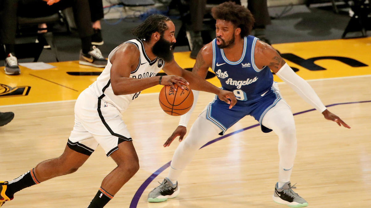 Lakers vs. Nets takeaways: James Harden provides spark as Brooklyn shoots past L.A. for fifth straight win - CBSSports.com