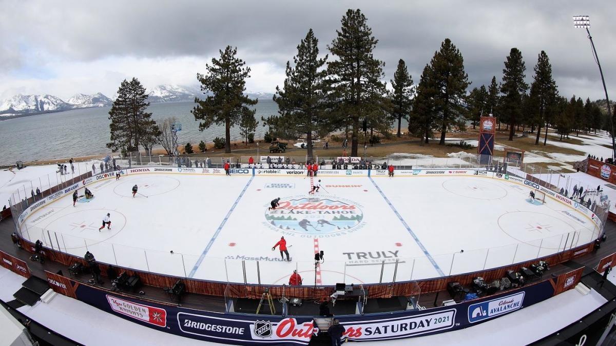 Avalanche vs. Golden Knights delay: NHL postpones Lake Tahoe outdoor game, will restart at midnight ET