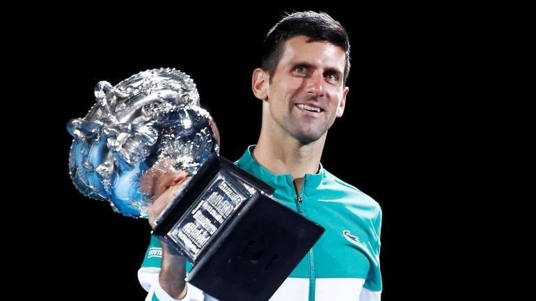 Novak Djokovic 2021 Australian Open