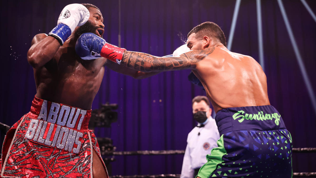 Adrien Broner picks up unanimous decision over Jovanie Santiago for first win in four years - CBSSports.com