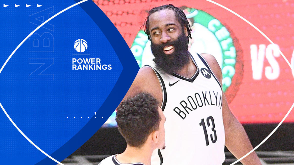 NBA Power Rankings: Nets on Jazz's heels for top spot; Lakers keep dropping; surging Raptors make big jump - CBS Sports