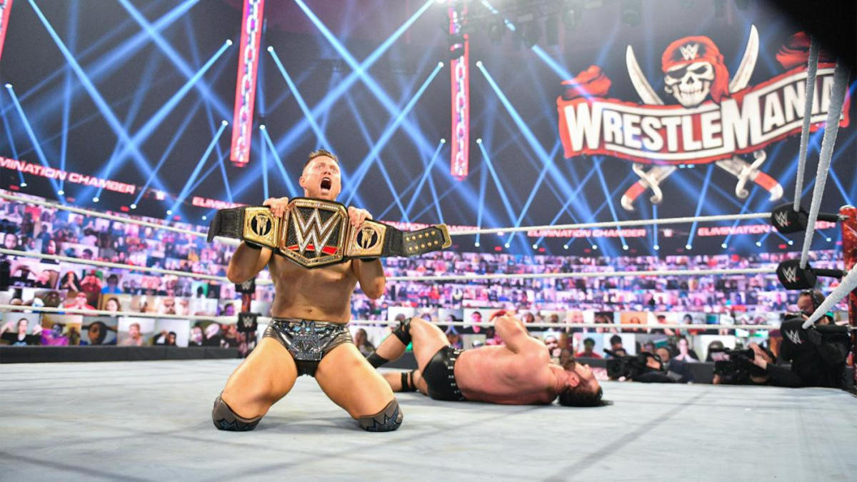 The Miz credits past failures for giving him confidence as second WWE championship reign begins