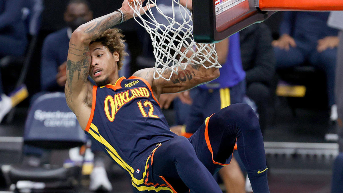 Warriors face long-term question about Kelly Oubre Jr., who has completely turned his season around