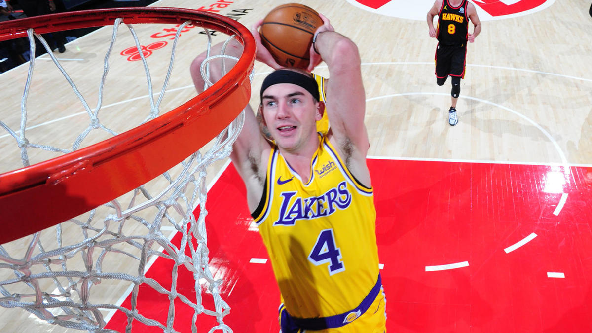 Lakers' Alex Caruso declined NBA slam dunk contest invite, per report, and is 'looking forward' to the break - CBS Sports