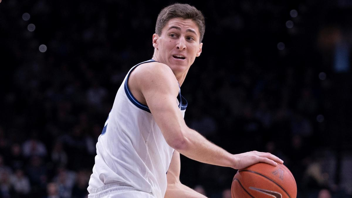 Villanova star point guard Collin Gillespie to miss remainder of season after suffering torn left MCL - CBS Sports