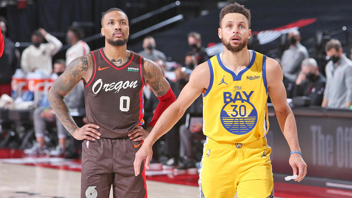 Blazers' Damian Lillard reminds Stephen Curry, Warriors he's the best clutch player in the NBA