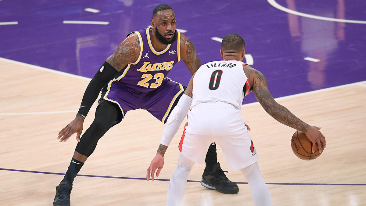 NBA Star Index: LeBron James continues to make All-Defense case, but Damian Lillard has jumped him in MVP race - CBS Sports