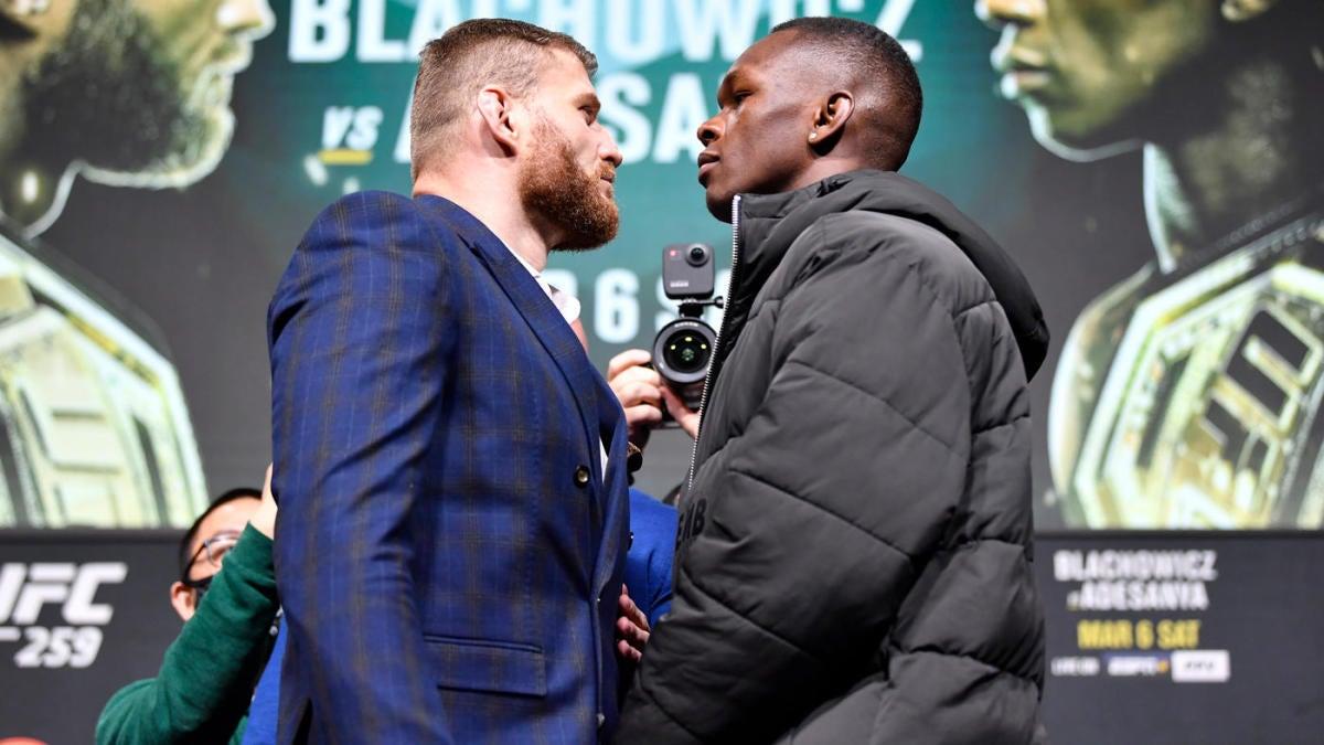 UFC 259 predictions -- Israel Adesanya vs. Jan Blachowicz: Fight card, odds, prelims, expert picks - CBSSports.com