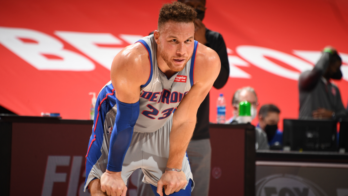 Blake Griffin agrees to contract buyout with Pistons; Nets are favorites to sign him per report – CBS Sports