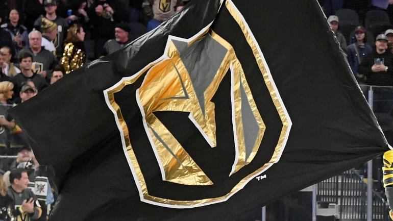 Vegas Golden Knights Logo Flag