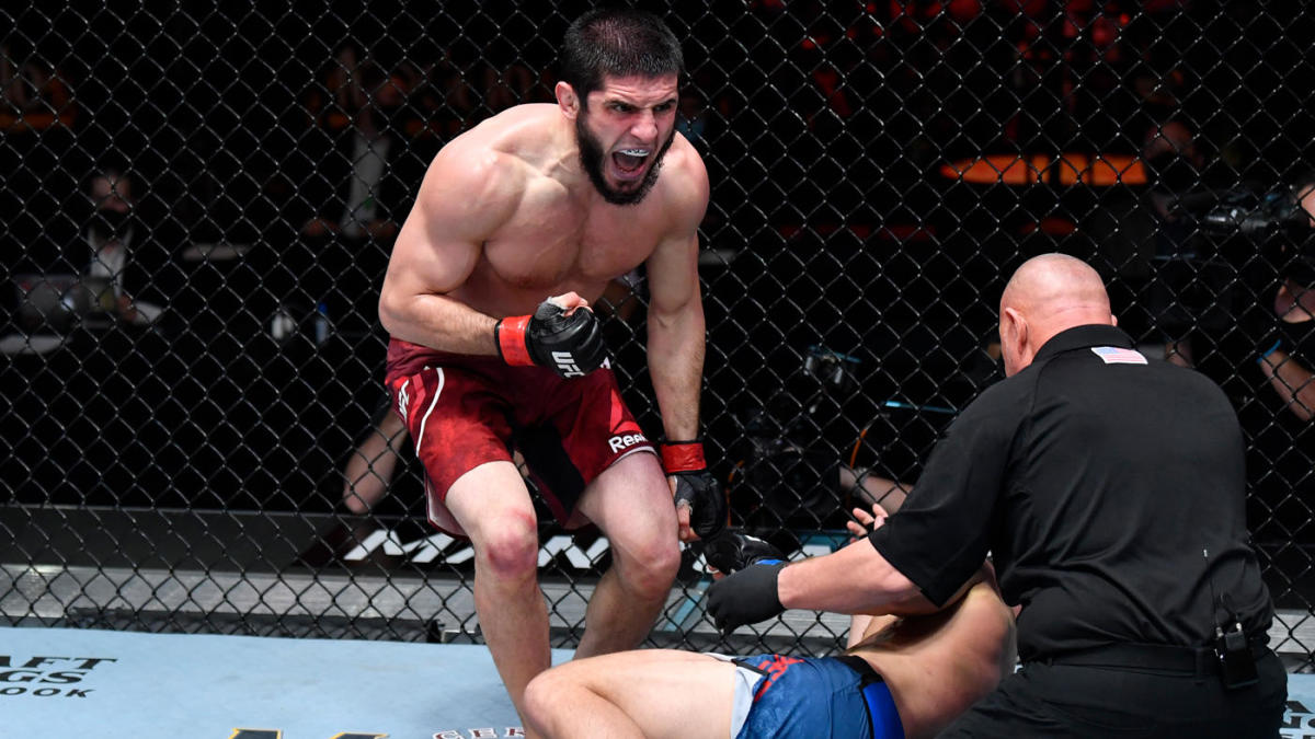 UFC 259 results, highlights: Islam Makhachev makes strong statement to lightweight division in submission win - CBSSports.com