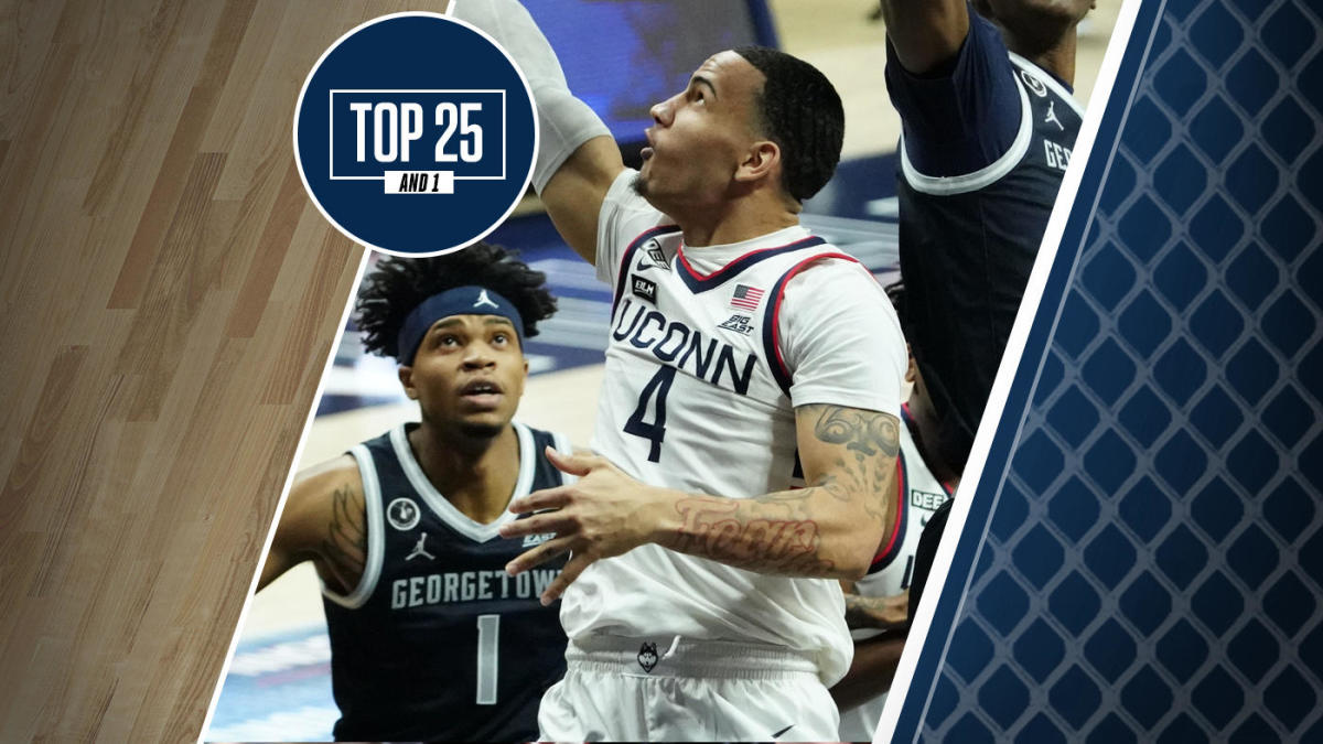College basketball rankings: UConn enters Top 25 And 1 as Huskies extend winning streak to four games - CBS Sports