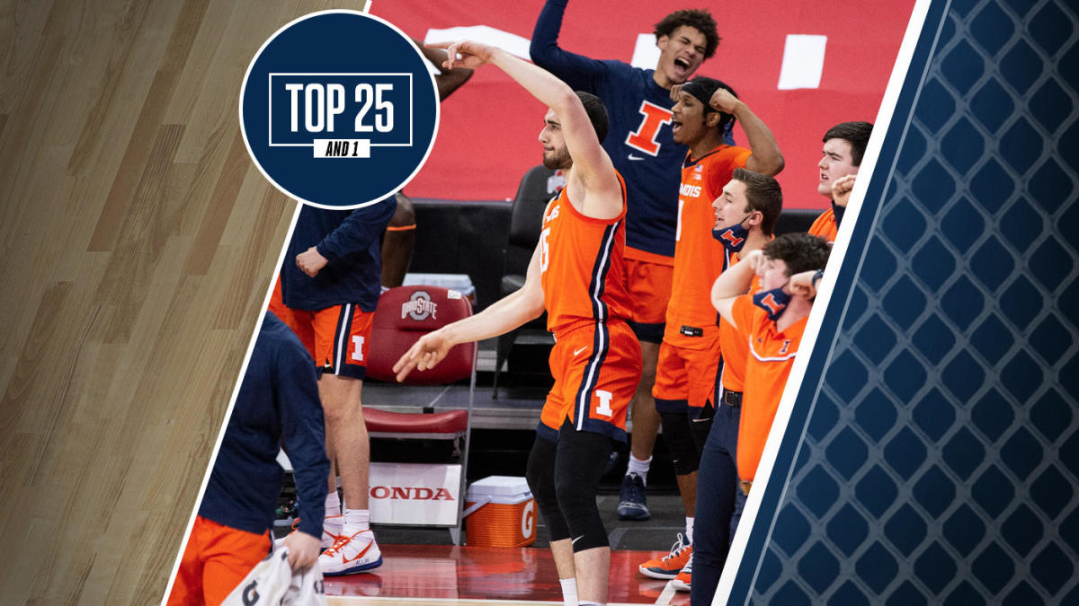 College basketball rankings: Illinois is top team in Big Ten, jumps Michigan for No. 3 in Top 25 And 1 - CBS Sports