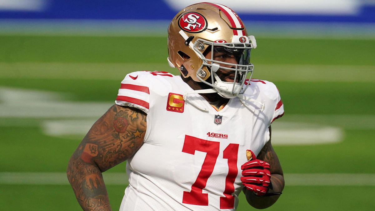 Trent Williams agrees to six-year deal with 49ers worth up to $138 million, becoming highest-paid tackle ever