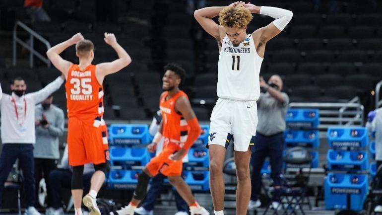 Emmitt Matthews Jr. West Virginia Mountaineers Basketball 2021 NCAA Tournament