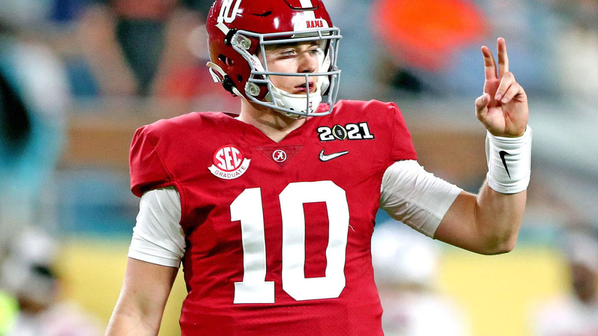 2021 NFL Mock Draft: Falcons Patriots take QBs in top 10 after 49ers go with surprise pick at No. 3 – CBS Sports