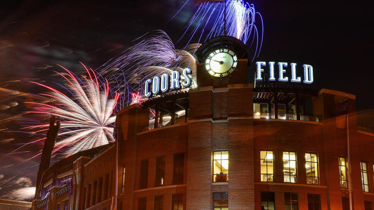 Major League Baseball: The San Diego Padres of Colorado Rocky Mountains