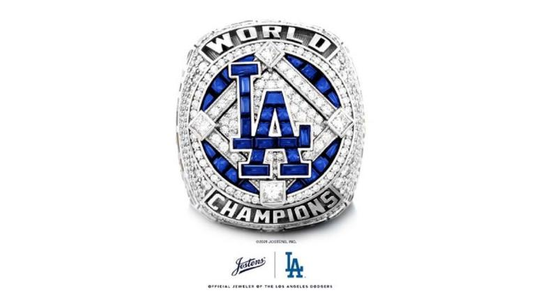 Clayton Kershaw Los Angeles Dodgers World Series Ring