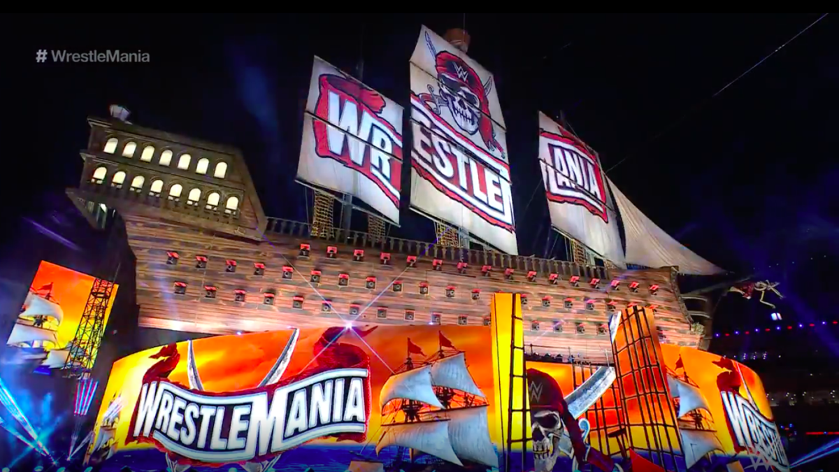 WWE Wrestlemania 37 Set Officially Revealed; The Fiend To Have Special Entrance 1