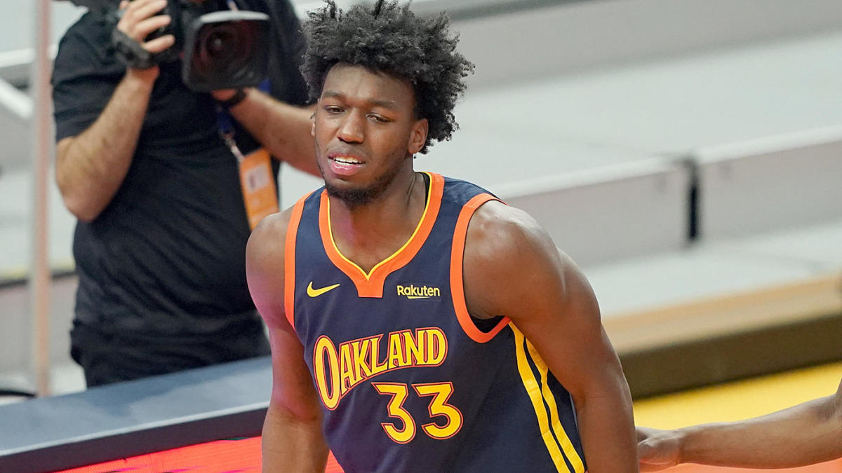 Warriors rookie James Wiseman suffers meniscus injury in right knee, could reportedly miss rest of season - CBSSports.com
