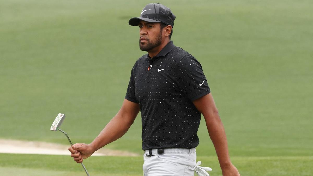 2021 Masters: Tony Finau gets call from Tom Brady during third-round rain delay