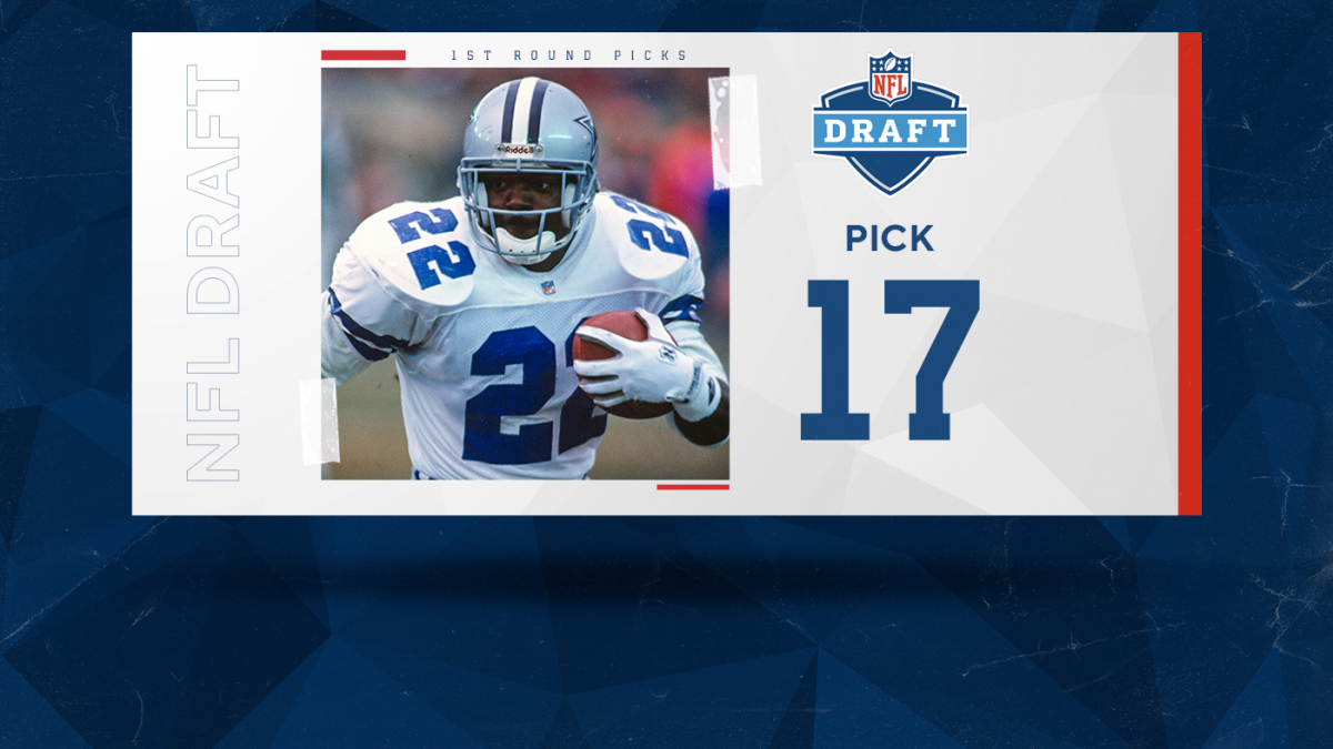 Ranking the best NFL draft picks of all time: Emmitt Smith leads top five ever selected at No. 17