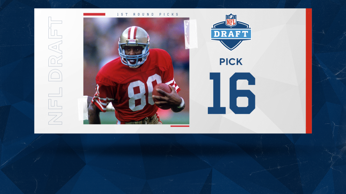 Ranking the best NFL draft picks of all time: Jerry Rice leads the top five taken at No. 16 overall