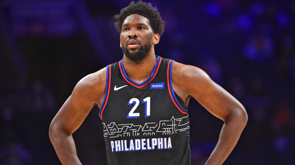 76ers' Joel Embiid expresses frustration with officials, himself and his teammates following loss to Hawks - CBS Sports