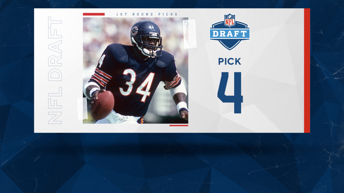 Ranking the best NFL draft picks of all time: Walter Payton headlines top five taken at No. 4