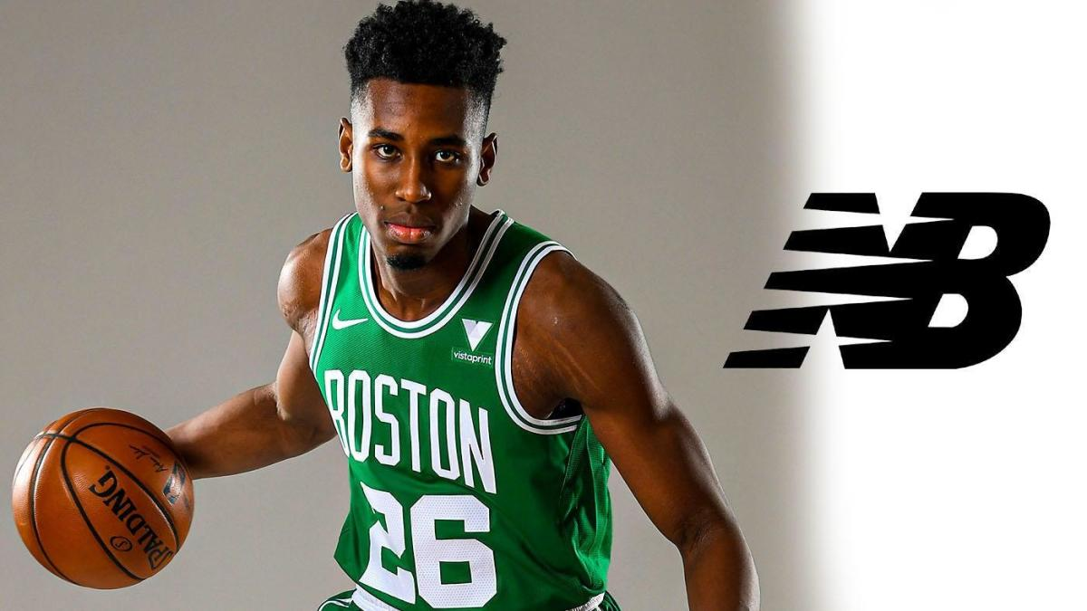 Celtics rookie Aaron Nesmith latest NBA player to join New Balance ...