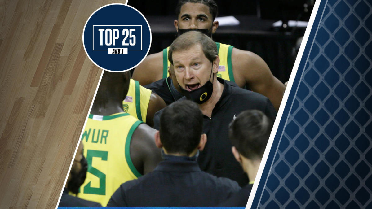College basketball rankings: Oregon jumps in early Top 25 And 1 after landing Oklahoma transfer De'Vion Harmon
