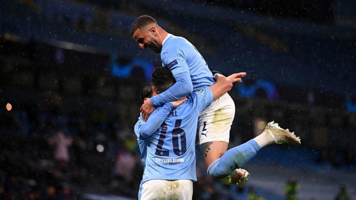Manchester City vs. PSG score: Mahrez double sees City cruise into Champions League final – CBSSports.com