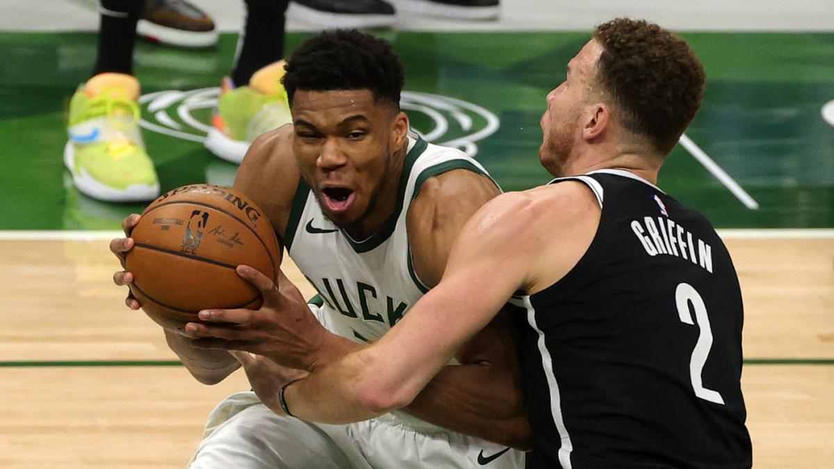Nets vs. Bucks score, takeaways: Giannis Antetokounmpo helps Milwaukee land tiebreaker over Brooklyn with win - CBS Sports