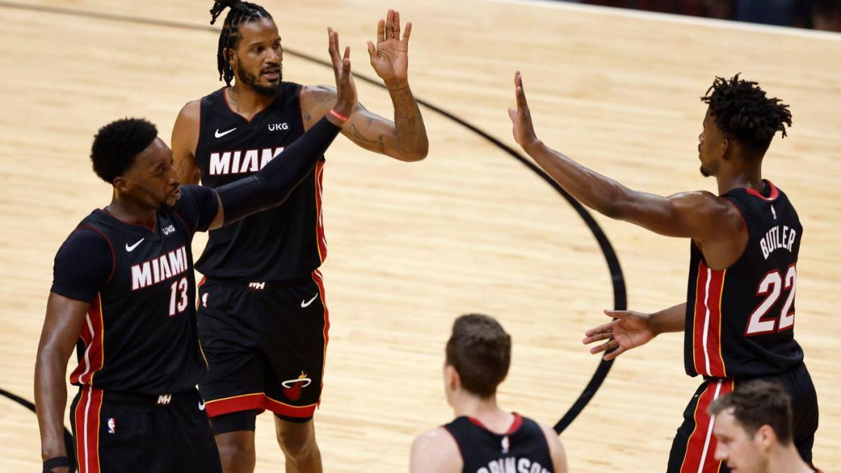 Can the Miami Heat regain last season's playoff magic after a mediocre regular season?