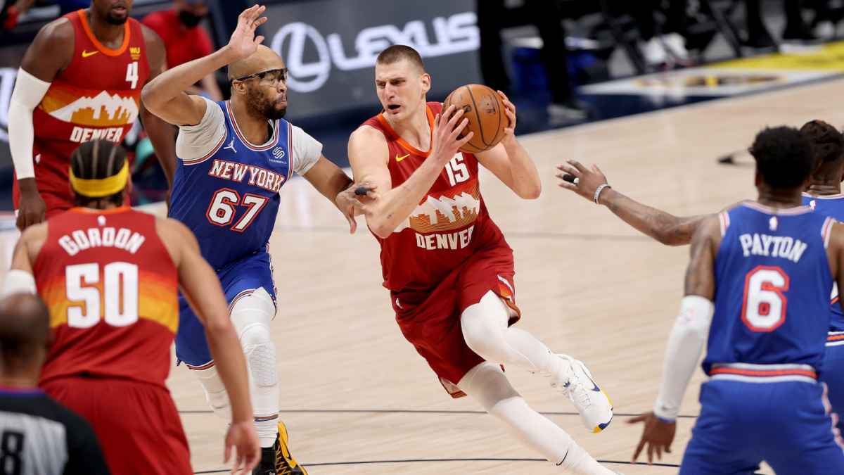 Knicks vs. Nuggets score, takeaways: Nikola Jokic dominates early as Denver cruises to win over New York thumbnail