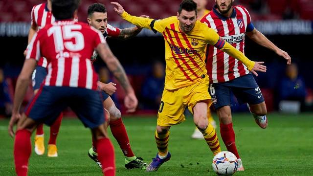 Barcelona vs. Atletico Madrid: La Liga live stream, TV channel, watch Messi  vs. Suarez online, odds, time - CBSSports.com