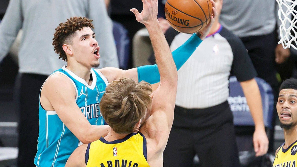 Hornets vs. Pacers play-in game: LaMelo Ball takes big stage, Indiana injuries and containing Domantas Sabonis - CBSSports.com