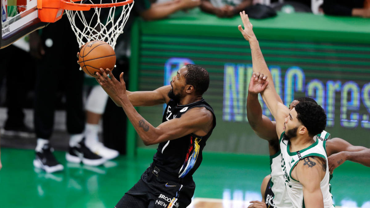 <p>Nets-Celtics playoff preview: Can Boston be more than the Usual tune-up for Kevin Durant, James Harden, Kyrie Irving? </p> thumbnail