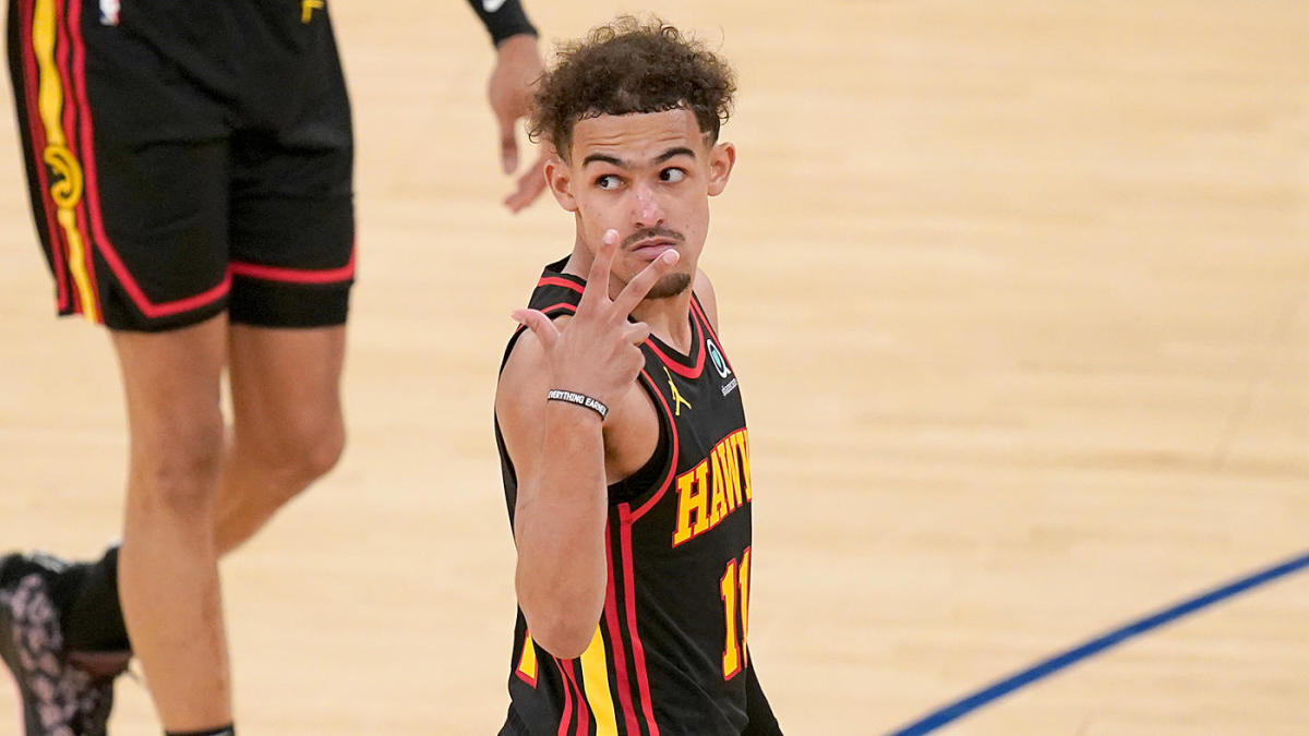 Hawks-Knicks: Trae Young's sparkling playoff debut puts him in elite  company, highlights rapidly maturing game - CBSSports.com