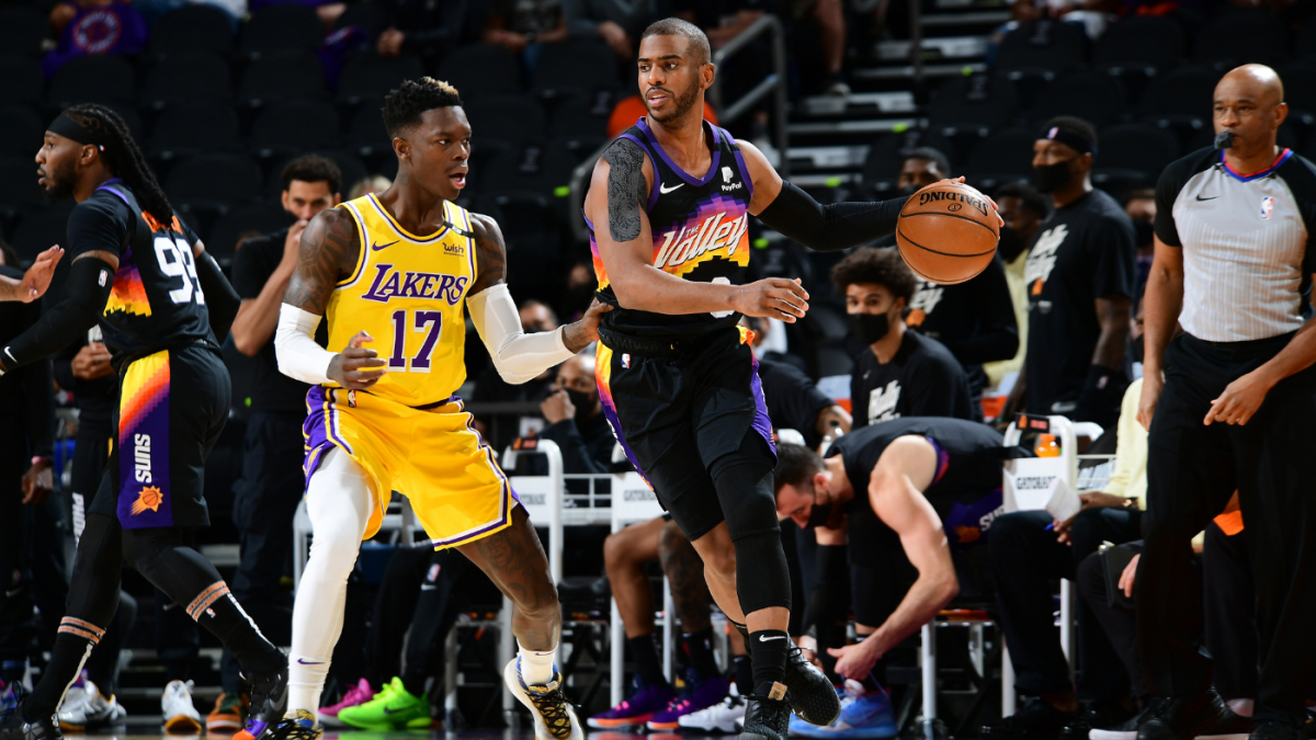 Suns vs. Lakers: Monty Williams says Chris Paul was 'laboring' through shoulder injury in Game 2 loss – CBS Sports