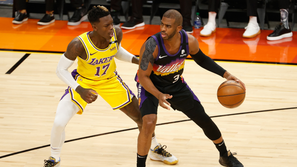 Suns vs. Lakers: Monty Williams says Chris Paul clearly 'laboring' through shoulder injury in Game 2 loss – CBS Sports