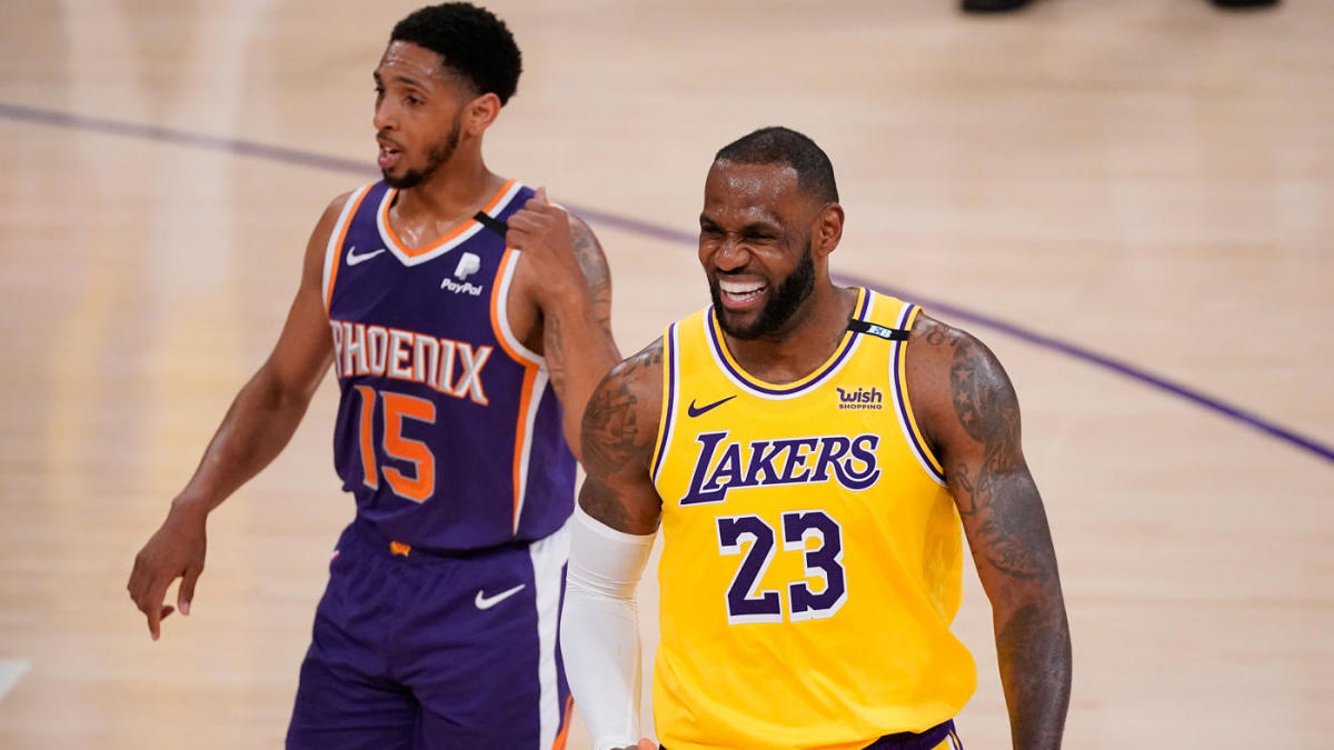 Lakers vs. Suns score takeaways: LeBron James Anthony Davis fuel Los Angeles to Game 3 win 2-1 series lead – CBSSports.com