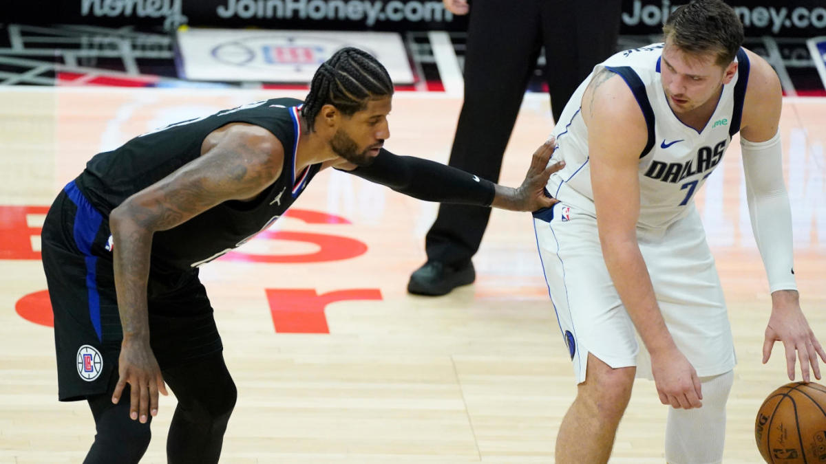 NBA Playoffs 2021 Mavericks vs. Clippers Game 3 on 99-66 roll Reggie Jackson replaces Patrick