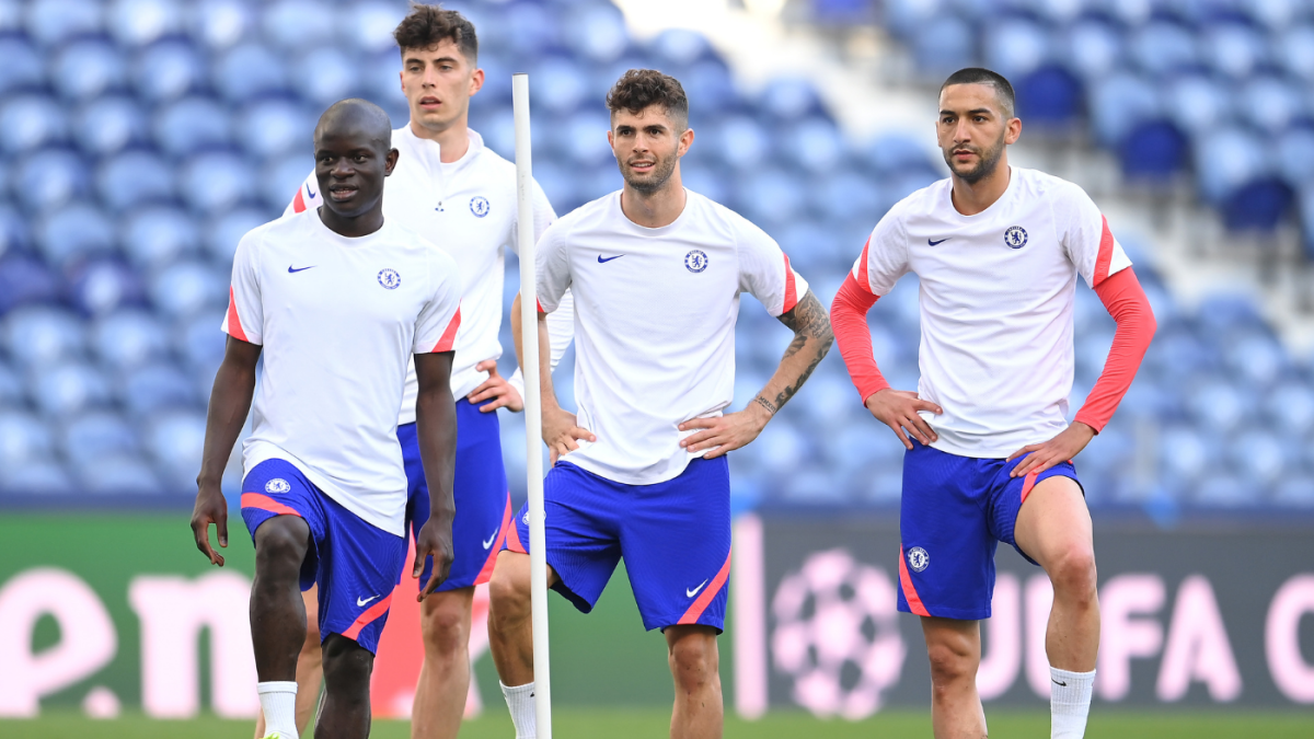 Champions League final Man City-Chelsea lineups: Christian Pulisic on the bench Sterling gets surprise start – CBS Sports