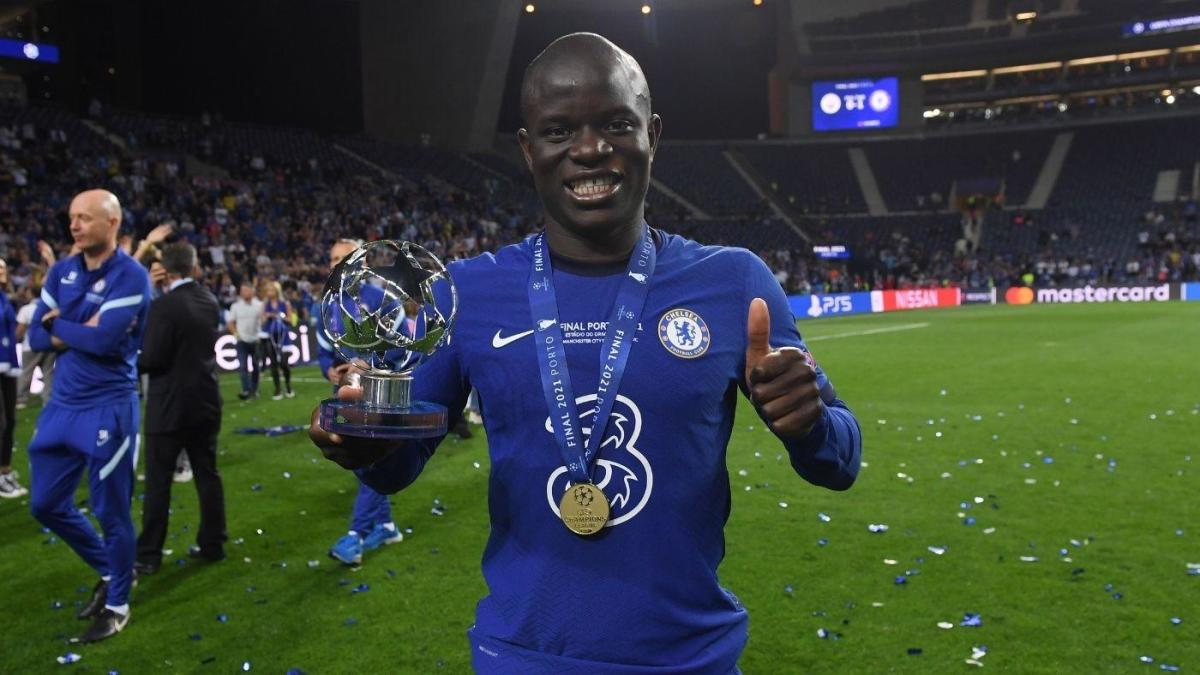 N'Golo Kante powers Chelsea to Champions League title and shows why he's  one of the world's best midfielders - CBSSports.com