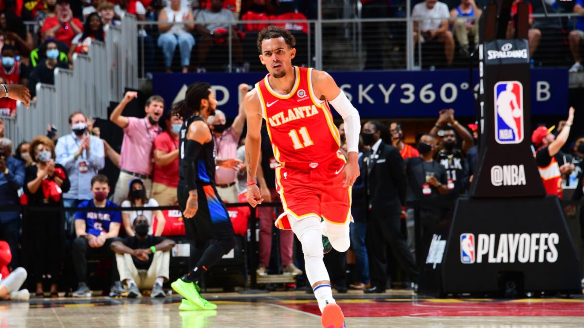 Knicks vs. Hawks score takeaways: Trae Young makes NBA history in win; Atlanta secures 2-1 series lead – CBSSports.com
