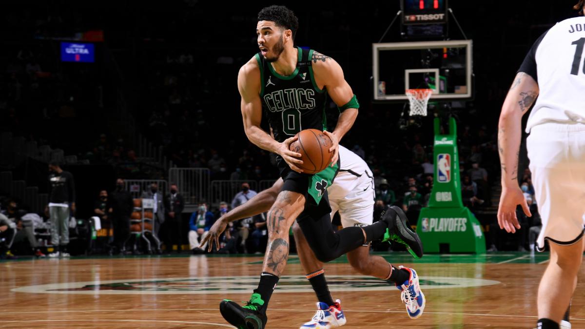 Nets vs. Celtics score takeaways: Jayson Tatum drops 50 points Boston wins Game 3 to stay alive in series – CBSSports.com