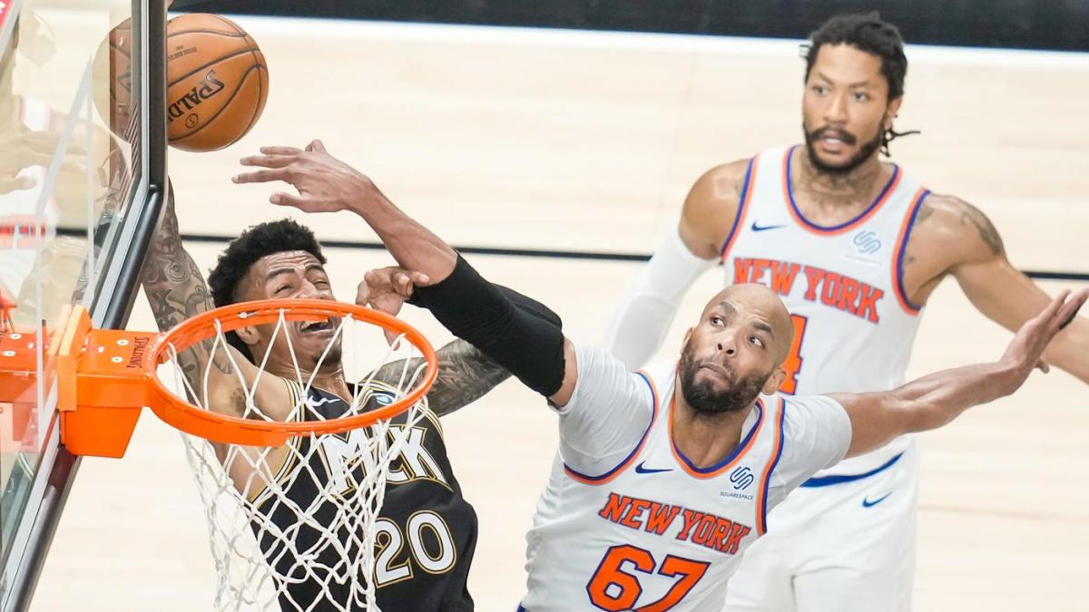 Knicks vs. Hawks score: Live NBA playoff updates as Julius Randle New York try to even series in Atlanta – CBSSports.com