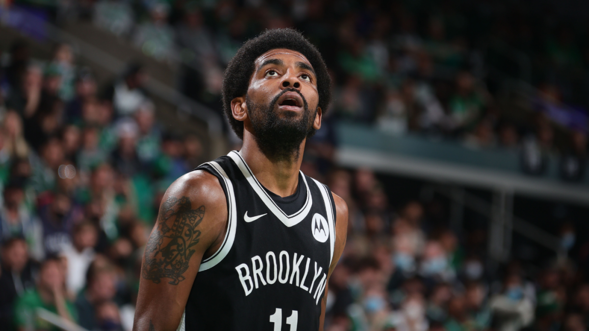 Celtics vs. Nets: Fan who threw water bottle at Kyrie Irving arrested subject to lifetime ban from TD Garden – CBS Sports